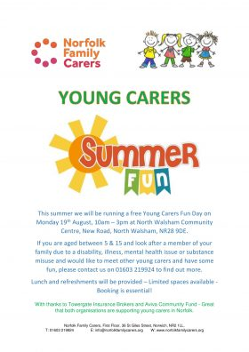 Young Carers Fun Day (North Walsham)